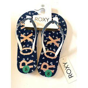 ROXY Women's Simba Love V Flip Flop Sandals Size 8